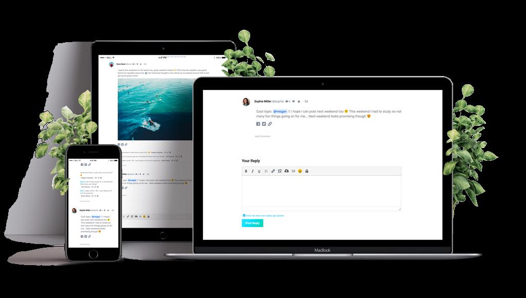 9. Forym - Modern Discussion Forum plugin for WordPress
